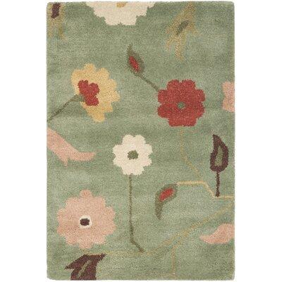 Jardin Sage / Multi Floral Rug by Safavieh