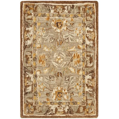 Safavieh Anatolia Dark Gray/Brown Area Rug