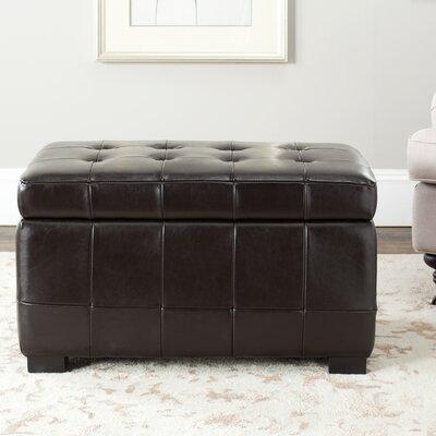 Safavieh Leather Ottoman