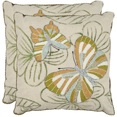 Safavieh Casandra Cotton Throw Pillow