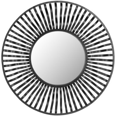 Swirl Round Wall Mirror by Safavieh