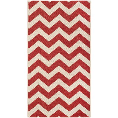 Courtyard Red Outdoor Rug by Safavieh