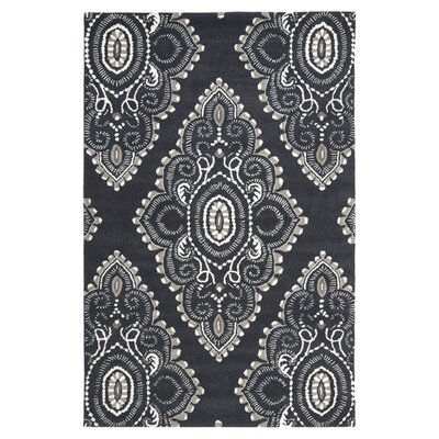 Wyndham Black/Gray Rug by Safavieh