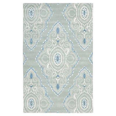 Wyndham Blue / Ivory Rug by Safavieh
