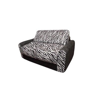 Micro and Zebra Kid's Sleeper Sofa by Fun Furnishings