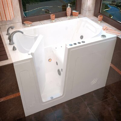 "Buena Vista 54"" x 30"" Whirlpool & Air Jetted Bathtub Product Photo"