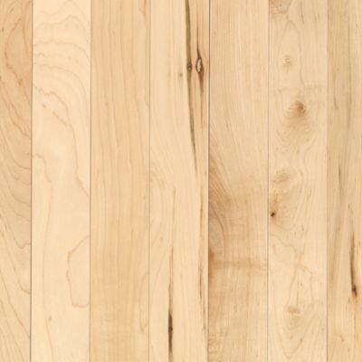 "Mohawk Flooring Maple Ridge 2-1/4"" Solid Maple Hardwood Flooring in Natural"
