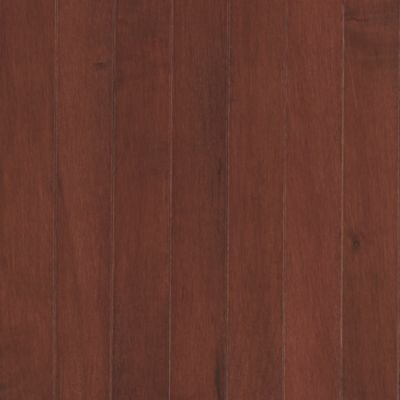"Mohawk Flooring Maple Ridge 2-1/4"" Solid Maple Hardwood Flooring in Spice Cherry"