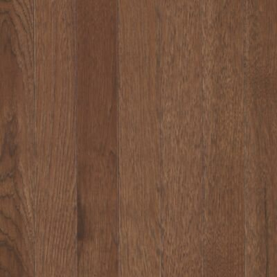 "Mohawk Flooring Berry Hill 2-1/4"" Solid Hickory Hardwood Flooring in Thrasher Brown"