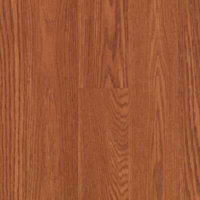 "Mohawk Flooring Barchester 8"" x 47"" x 8mm Oak Laminate in Cinnamon Spice Oak Strip"
