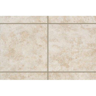 "Mohawk Flooring Ristano 6"" x 3"" Bullnose Tile Trim in Bianco"