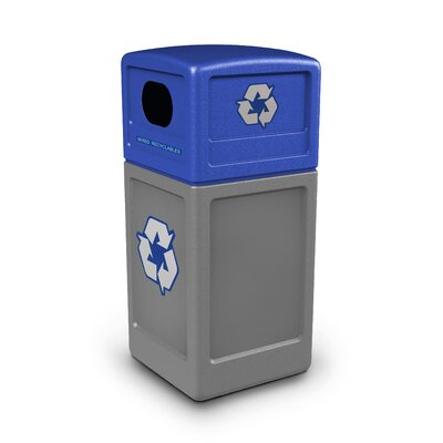 Commercial Zone Green Zone 42-Gal Industrial Recycling Bin