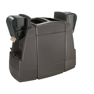 Commercial Zone Islander Series 55-Gal Double Sided Windshield Center