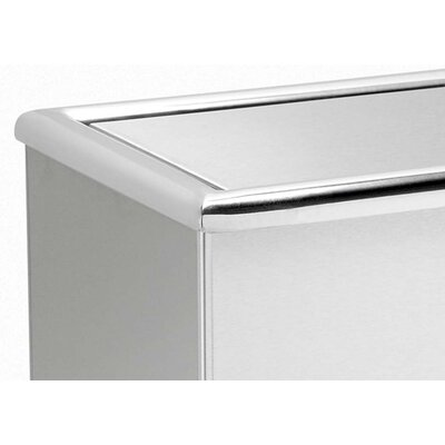 Commercial Zone Precision Series 13.5-Gal Rectangular Trash Can