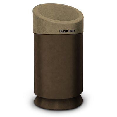 Commercial Zone Galaxy 40-Gal Waste Receptacle