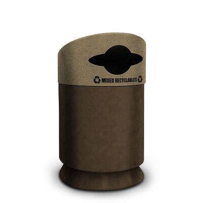 Commercial Zone Galaxy 30-Gal Industrial Recycling Bin
