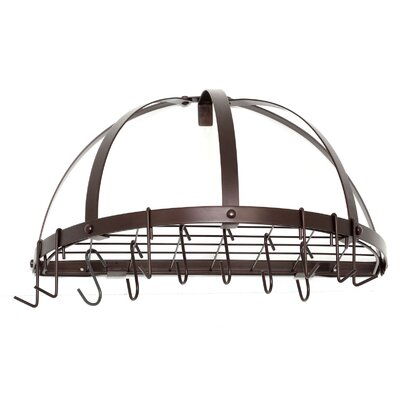 Half Round Pot Rack by Old Dutch
