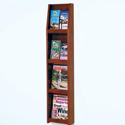 Wooden Mallet 4 Magazine / 8 Brochure Wall Display