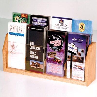 Wooden Mallet Countertop 8 Pocket Brochure Display