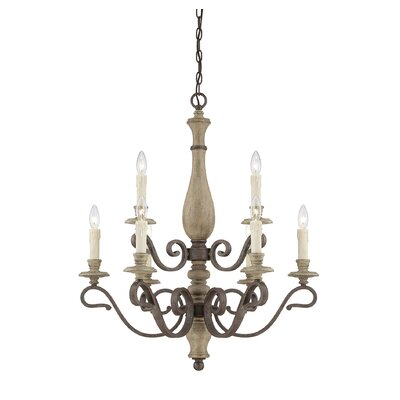 Mallory 9 Light Candle Chandelier by Savoy House
