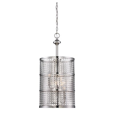 Fairview 3 Light Semi-Flush Mount Product Photo