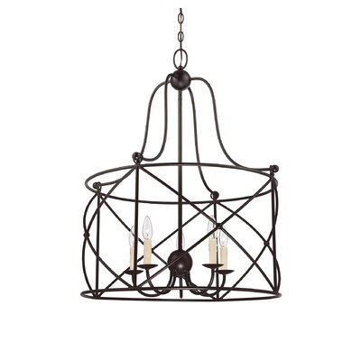 Seneca 5 Light Pendant by Savoy House