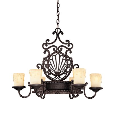 San Gallo 6 Light Chandelier by Savoy House