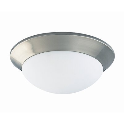 2 Light Flush Mount Product Photo