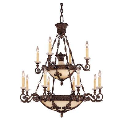 Savoy House Putnam 12 Light Chandelier
