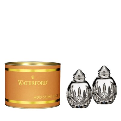 Waterford Lismore Round Salt and Pepper Set