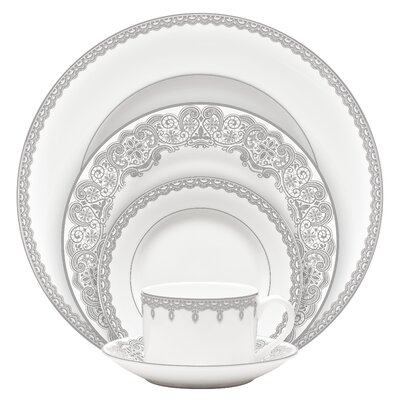 Lismore Lace Platinum Dinnerware Collection by Waterford