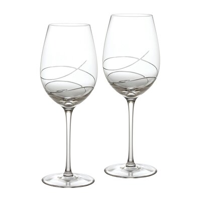 Waterford Ballet Ribbon Essence Red and White Wine Glass