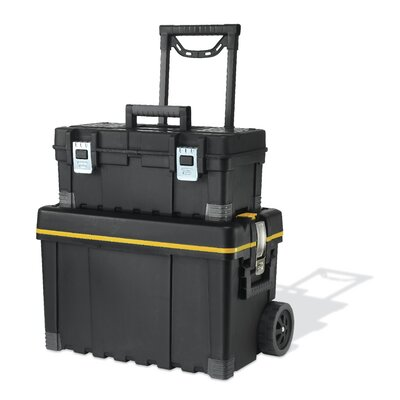 Multiple Storage Plastic Portable Tool Box & Utility Cart by Keter