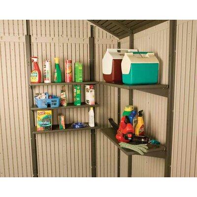 Lifetime 10 Ft. W x 13 Ft. D Plastic Storage Shed