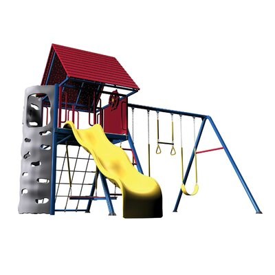 Primary Heavy Duty Metal Swing Set Product Photo