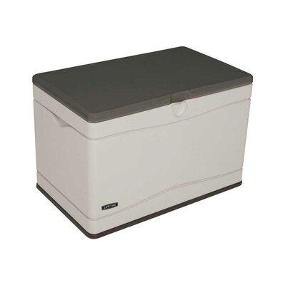 Lifetime 80 Gallon Plastic Deck Storage Box Amp Reviews