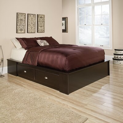 Shoal Creek Queen Platform Bed by Sauder