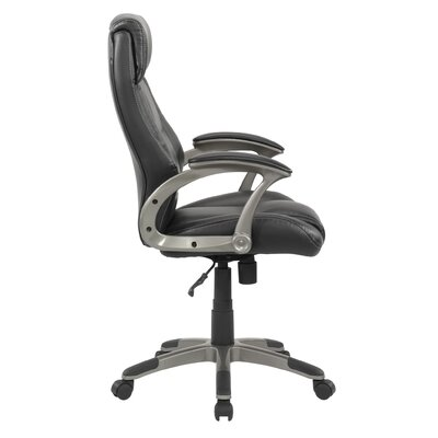 Gruga Manager S Mid Back Leather Executive Chair Ii Wayfair