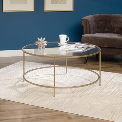 Sauder International Lux Coffee Table Amp Reviews Wayfair