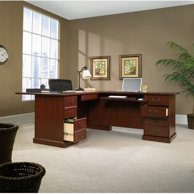 "Sauder Heritage Hill  29.68"" H x 47.48"" W Reversible Desk Return"