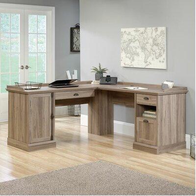 Barrister Lane L-Shaped Executive Desk by Sauder
