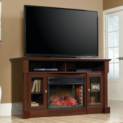 Barrister Lane Curved Electric Fireplace by Sauder