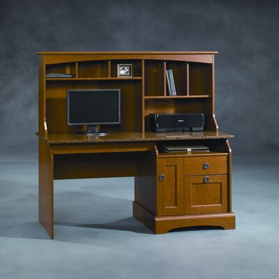 Graham Hill Computer Desk with Hutch by Sauder