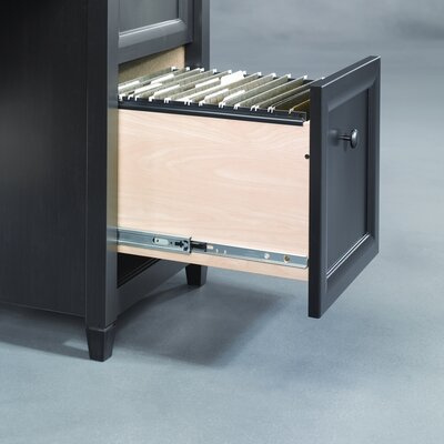 Sauder Edge Water puter Desk with 3 Storage Drawers