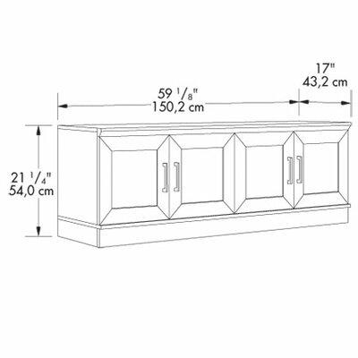Sauder HomePlus TV/Wall Cabinet