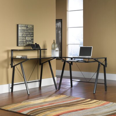 Vector Studio Edge L-Shaped Computer Desk by Sauder