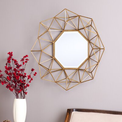 Carmelo Wall Mirror by Wildon Home ®