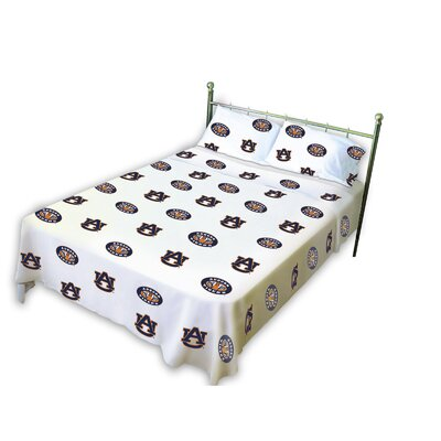 NCAA Auburn Sheet Set by College Covers