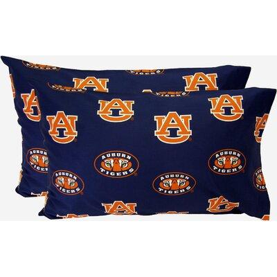 Collegiate NCAA Auburn Pillowcase by College Covers