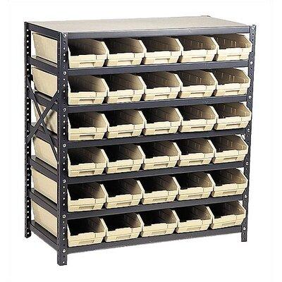 Quantum Storage Economy Shelf Storage Units with Small Bins